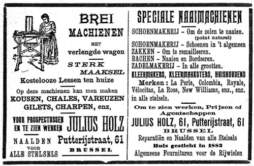 Advertentie 1909